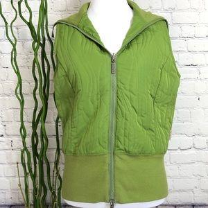 Columbia Green Reversible Lightweight Vest